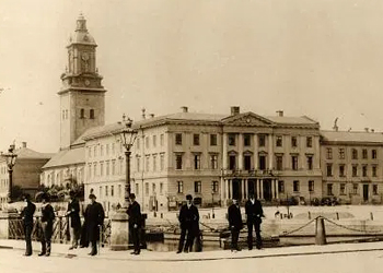 Gustav Adolfs torg 1900-talets början