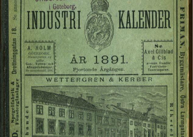 Göteborgs adress- och industrikalender 1891
